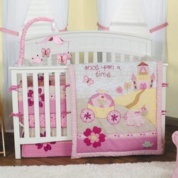 Trend Lab Baby Storybook Princess 3 pc. Crib Bedding Set - Once upon a time there was an awesome Trend Lab Baby Storybook Princess 3 pc. Crib Bedding Set that a precious little girl absolutely loved. Give your daughter's nursery a fairytale vibe with this dream-like scene showcasing a pretty little princess in her horse-drawn carriage along with her royal castle and a kissable frog. This princess-worthy set come with a quilt, fitted sheet, and a box pleat skirt.About Trend LabFormed in 2001 in Minnesota, Trend Lab is a privately held company proudly owned by women. Rapid growth in the past five years has put Trend Lab products on the shelves of major retailers, and the company continues to develop thoroughly tested, high-quality baby and children's bedding, decor, and other items. Trend Lab continues to inspire and provide its customers with stylish products for little ones. From bedding to cribs and everything in between, Trend Lab is the right choice for your children.