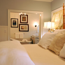 Traditional Bedroom by Tara Dudley