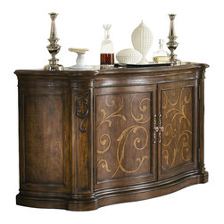 American Drew - American Drew Jessica McClintock Couture Credenza in Mink Finish - American Drew - Buffet Tables and Sideboards - 908858