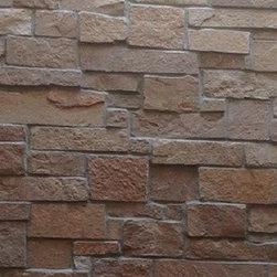 Minocqua Natural Stone Veneer - Shown is The Quarry Mill's Minocqua Natural Stone Veneer.