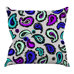 "Kess InHouse - Gabriela Fuente ""Pink Fun"" Throw Pillow (16"" x 16"") - Rest among the art you love. Transform your hang out room into a hip gallery, that's also comfortable. With this pillow you can create an environment that reflects your unique style. It's amazing what a throw pillow can do to complete a room. (Kess InHouse is not responsible for pillow fighting that may occur as the result of creative stimulation)."