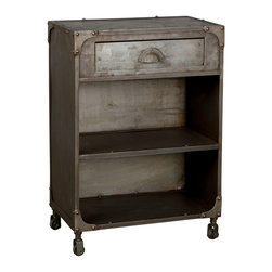 C.G. Sparks - Sarnath Nightstand - Product Features: