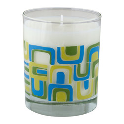 Crash - Garden Soy Candle Fragranced With Cucumber And Avocado Candle - Modern design and fragrance in a timeless product. Experience functional art in your home, exclusively from Crash. Fragranced with a blend of Cucumber and Avocado.