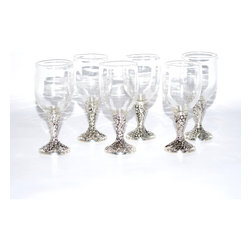 None - Cordial Glass Wine Glasses (Set of 6) - Innovative and elegant, this set of six cordial glasses will make a big hit when entertaining guests, or give them to a wine lover as a unique gift. Glasses are dishwasher safe for easy cleaning and care.