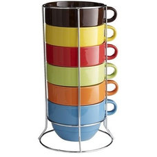 Contemporary Mugs by Pier 1 Imports