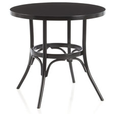 Vienna Black Bistro Table in Dining Tables | Crate and Barrel