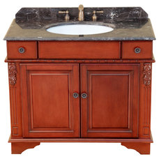 Traditional Bathroom Vanities And Sink Consoles by Bosconi Wholesale Bathroom Vanities