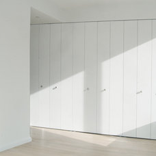 Contemporary Interior Doors MAGIGLIDE SmartWall Closet & Storage System