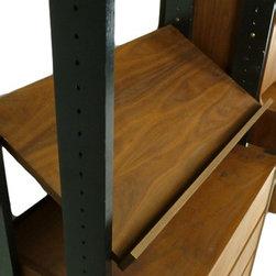 Mid Century Modern Free Standing Wall Unit - RetroPassion21