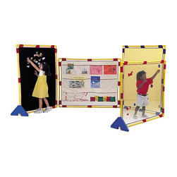 Childrens Factory - Children's Factory Big Screen Activity Room Divider Set - CF900-525 - Shop for Room Dividers from Hayneedle.com! About The Children's Factory Kirkwood Mo 1982 - The Childrn's Factory was created in the attic of its founders. Their vision was to create a soft play environment where children could play safely. They started with a basic 3D animal shape perfectly sized for a young child. From there other products were developed and the company quickly grew in size. Soft safe creative play is their passion. Their products are designed towards ASTM standards and their materials meet or exceed the CPSIA requirements.