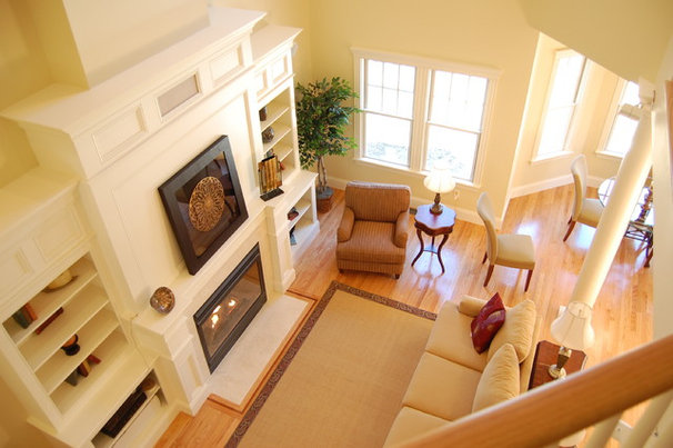 Traditional Family Room by Boston Green Building