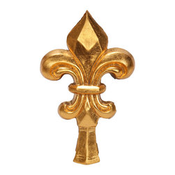 uDecor - GF-2260H Ornamental - For anyone looking for an elegant way to adorn your home or business, our gold foil products are the perfect way to achieve your desired look. Made out of polyurethane and then coated with 18k gold foil, these products are sure to leave your family and clients impressed.  Made from dense polyurethane