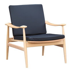 Palm Desert Chair - Relax in comfortable mid-century modern style with this sleek and stylish chair. Featuring a sturdy yet slender shape and a comfortable cushioned seat, it's a perfect spot for kicking back with a cocktail and enjoying the moment.