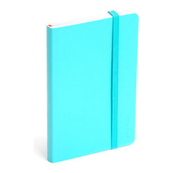 Soft Cover Notebook, Aqua, Small