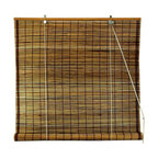 Oriental Unlimted - Burnt Bamboo Roll Up Blinds in Tortoise (36 i - Choose Size: 36 in. WideExotic with a global inspired appeal, these burnt bamboo blinds will bring an island inspired spirit to any decor. Finished in tortoise for added visual interest, the environmentally friendly blinds are lightweight and easy to hang and are available in your choice of sizes. Burnt bamboo roll up blinds are a versatile addition to any window. They will fit in with any decor. Easy to hang and operate. 24 in. W x 72 in. H. 36 in. W x 72 in. H. 48 in. W x 72 in. H. 60 in. W x 72 in. H. 72 in. W x 72 in. H