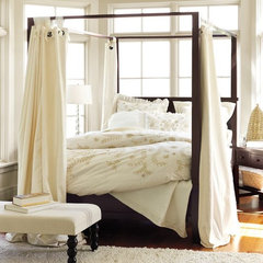 modern beds by Pottery Barn