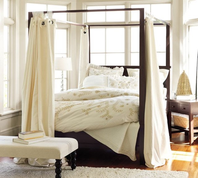 Modern Canopy Beds by Pottery Barn