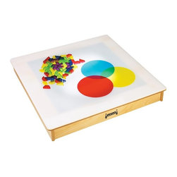 Jonti-Craft - Jonti-Craft Tabletop Light Box Multicolor - 5842JC - Shop for Learning and Education from Hayneedle.com! Faces light up when kids get to play with the Jonti-Craft Tabletop Light Box a stimulating and inspiring tool for exploring colors tracing and drawing. Durably crafted from wood and acrylic this fun learning tool features rubber feet for tabletop protection and approved electrical components for safety. Proudly made in America it s backed by a lifetime manufacturer s warranty.About Jonti-CraftFamily-owned and operated out of Wabasso Minn. Jonti-Craft is a leading provider of quality furniture for the early learning market. They offer a wide selection of creatively designed products in both wood and laminate materials. Their products are packed with features that make them safe functional and affordable. Jonti-Craft products are built using the strongest construction techniques available to ensure that your furniture purchase will last a lifetime.