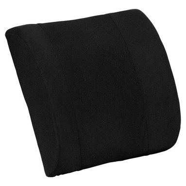 Flash Furniture - Flash Furniture Lumbar Cushion w/ Strap - XU-LUMBAR-GG - This lumbar cushion is ergonomically contoured to conform to your body while helping to maintain the natural curve of your spine. Adding lumbar support greatly improves most lower back pain conditions. The elastic strap allows the cushion to be affixed around office chairs or simply place behind you in the desired position. This back cushion is not only great for office chairs, but can be used around the home or while traveling. Help your body achieve its natural and healthy makeup with the firm support of this lumbar cushion by flash furniture. [XU-LUMBAR-GG]
