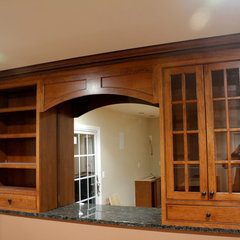 traditional basement by Kitchens by Frankie