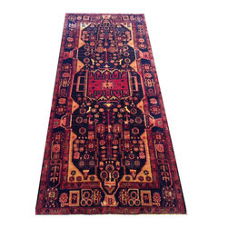 "4'8""x10'5"" Nahavand - Hand knotted in Iran"