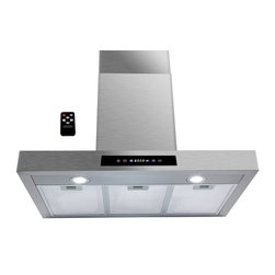 AKDY - AKDY AK-Z62750S7 Euro Stainless Steel Wall Mount Range Hood - Designed of brushed stainless steel, this traditional Italian design chimney hood will be the main focal point for your kitchen. Brilliant LED lighting provides impressive illumination over and around the cook top. A powerful, yet quiet internal blower is included for fast and easy installation. Ductless feature is available.