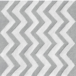 The Rug Market - Zigzag Dot area rug -