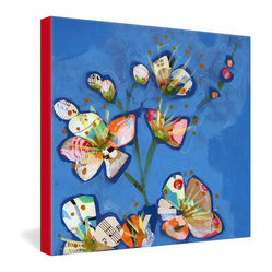 Land Of Lulu Apple Blossoms 1 Gallery Wrapped Canvas