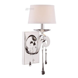 Savoy House Lighting Niva Modern/Contemporary Wall Sconce - These are great for people who like a more modern look but still want to add some sparkle.
