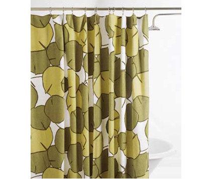 Beach towel shower curtain