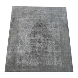 Sculpture Overdye Collection - Concrete Glow Rug By Madison Lily