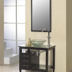 Dreamline Small Bathroom Vanity DLVG-204 - PRODUCT SPECIFICATIONS