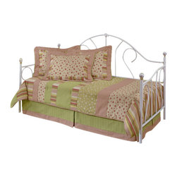 Hillsdale Furniture - Hillsdale Bristol Daybed - A classic style, this bed features a traditionally designed silhouette that will remain in vogue for years to come. By adding the optional canopy this bed becomes any little girl's dream bed, making her feel like a princess.