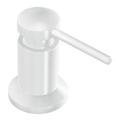 Moen - Moen 3942W Moen Soap Or Lotion Dispenser - From finishes that are guaranteed to last a lifetime, to faucets that balance your water pressure perfectly, the Moen series sets the standard for exceptional beauty and reliable, innovative design.