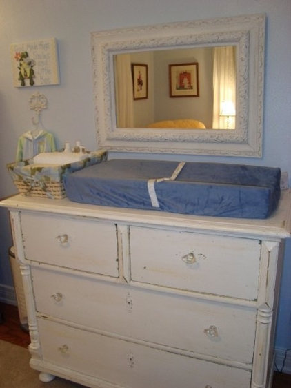 Eclectic Nursery by Charles Phillips Antiques and Architecturals