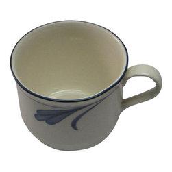 Lenox - Lenox Blue Brushstrokes Tea Cup - Lenox Blue Brushstrokes Tea Cup