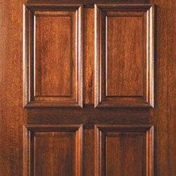 """Slab Front Single Door 80 Wood Mahogany Dover 4 Panel Fan Lite Glass - SKU#L12555BrandGlassCraftDoor TypeExteriorManufacturer CollectionFan Lite Entry DoorsDoor ModelDoverDoor MaterialWoodWoodgrainMahoganyVeneerPrice975Door Size Options36"""" x 80"""" (3'-0"""" x 6'-8"""")  $0Core TypeDoor StyleDoor Lite StyleFan LiteDoor Panel Style4 PanelHome Style MatchingDoor ConstructionLegacyPrehanging OptionsSlabPrehung ConfigurationSingle DoorDoor Thickness (Inches)1.75Glass Thickness (Inches)Glass TypeTriple GlazedGlass CamingBlackGlass FeaturesTempered , BeveledGlass StyleGlass TextureGlass ObscurityDoor FeaturesDoor ApprovalsWind-load Rated , FSC , TCEQ , AMD , NFRC-IG , IRC , NFRC-Safety GlassDoor FinishesDoor AccessoriesWeight (lbs)248Crating Size25"""" (w)x 108"""" (l)x 52"""" (h)Lead TimeSlab Doors: 7 daysPrehung:14 daysPrefinished, PreHung:21 daysWarrantyOne (1) year limited warranty for all unfinished wood doorsOne (1) year limited warranty for all factory?finished wood doors"""