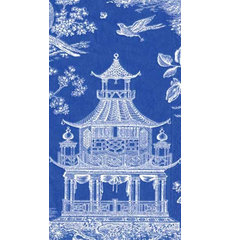 asian table linens by Caspari