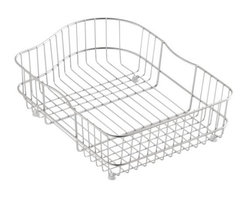 KOHLER - KOHLER K-6603R-ST Hartland Wire Rinse Basket for Right Hand Basin in Stainless S - KOHLER K-6603R-ST Hartland Wire Rinse Basket for Right Hand Basin in Stainless SteelProtect the beauty of your Hartland sink with the Hartland wire rinse basket. Designed to fit neatly into the bottom of the basin, this basket cushions fragile dishes and prevents damage to the sink's high-gloss enamel finish.KOHLER K-6603R-ST Hartland Wire Rinse Basket for Right Hand Basin in Stainless Steel, Features:• For use with Hartland sinks