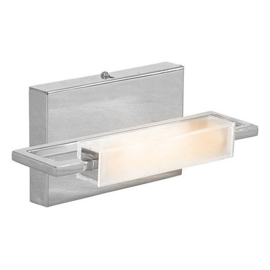 """Access Lighting - Access Lighting 62251 Single Light Ambient Lighting 9.25"""" Wide Bathroom Fixture - Single light ambient lighting bathroom fixture featuring opal glassRequires 1 75w T-3 Base Halogen Bulb (Not Included)ADA compliant"""
