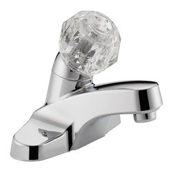 Delta Single Handle Lavatory Faucet - P188601LF - Getting ready in the morning is far from routine when you're surrounded by a room and in the company of a faucet that reflects your personal style