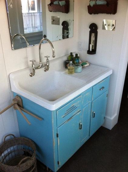 Eclectic Bathroom Vanities And Sink Consoles by Muskoka Custom Carpentry ltd.