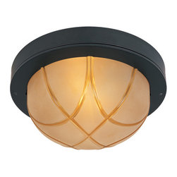 Designers Fountain - Designers Fountain 1258L Large Two Light Indoor/Outdoor Flushmount Ceiling Fixtu - Features: