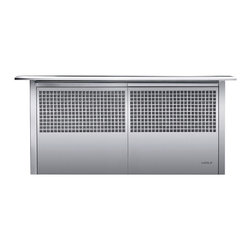 """30"""" downdraft ventilation - """"Switch on the downdraft unit and it rises quietly from"""