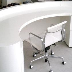 Custom Furniture - Custom made desk for the wonderful Simon Cowell!