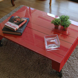 pallet table -