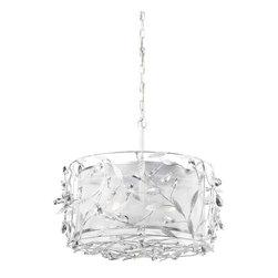 ELK Lighting - ELK Lighting 18122/3 Circeo Antique White Pendant - ELK Lighting 18122/3 Circeo Antique White Pendant