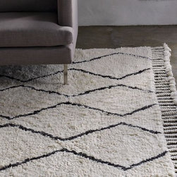 Souk Rug - This simple pattern has history and is so lush. This rug would really ground the room and make pink and other girly pieces stand out in an instant.