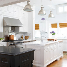 Traditional Kitchen by GIL WALSH INTERIORS
