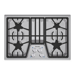 """Thermador Masterpiece Series 30"""" Gas Cooktop, Stainless Steel 